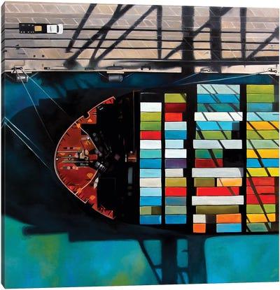 Miami Canvas Art Print