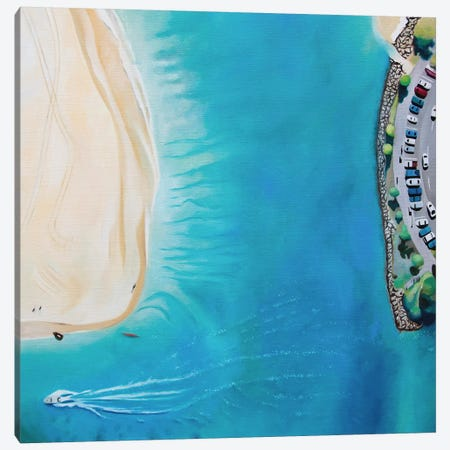 Noosa Beach Canvas Print #ASQ5} by Antony Squizzato Canvas Artwork