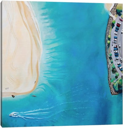 Noosa Beach Canvas Art Print