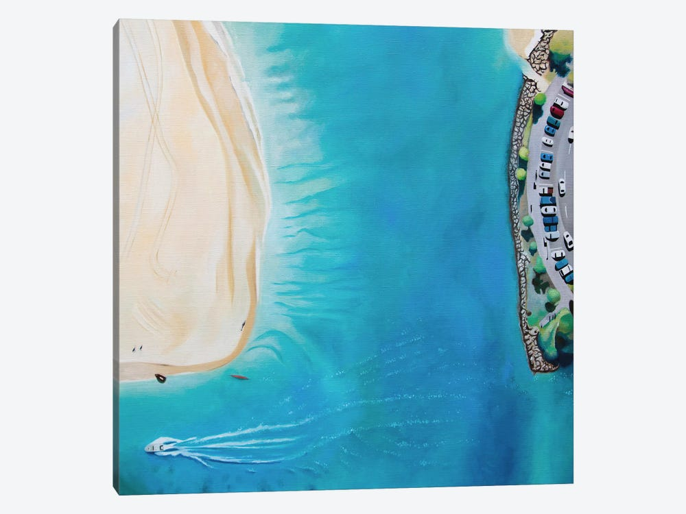 Noosa Beach by Antony Squizzato 1-piece Canvas Artwork