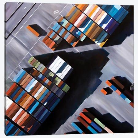 New York Canvas Print #ASQ61} by Antony Squizzato Art Print