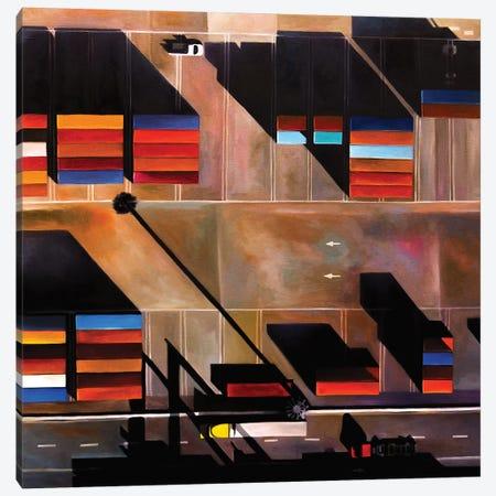Oakland Canvas Print #ASQ62} by Antony Squizzato Canvas Print