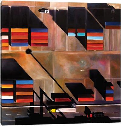 Oakland Canvas Art Print