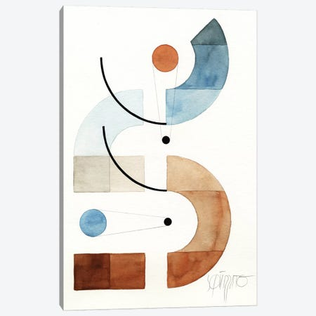Openspaces XXX 3-Piece Canvas #ASQ64} by Antony Squizzato Canvas Wall Art
