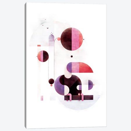 Rainbow Swinger Canvas Print #ASQ7} by Antony Squizzato Canvas Wall Art