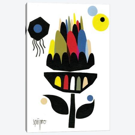 Artichaut Cosmique Canvas Print #ASQ82} by Antony Squizzato Art Print