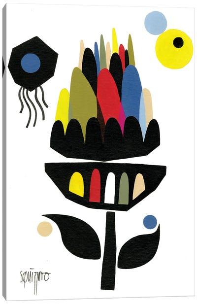 Artichaut Cosmique Canvas Art Print