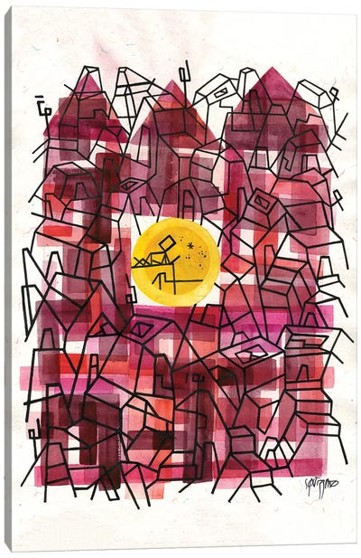 Escape Friday Canvas Art Print