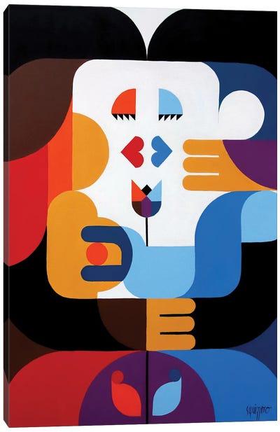 A Kiss In Rio Canvas Art Print