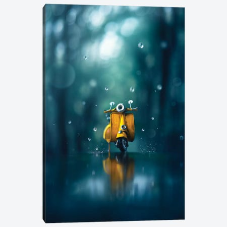 Little Rain Canvas Print #ASR17} by Ashraful Arefin Canvas Wall Art