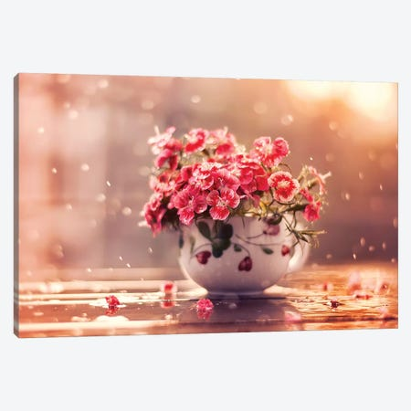 A Cup Of Beauty Canvas Print #ASR1} by Ashraful Arefin Canvas Artwork