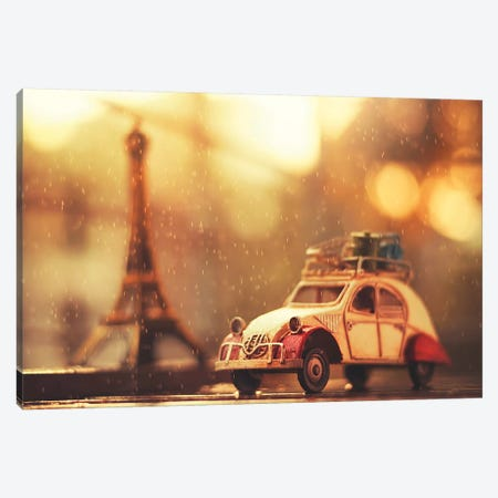 Souvenir De Paris Canvas Print #ASR28} by Ashraful Arefin Canvas Art