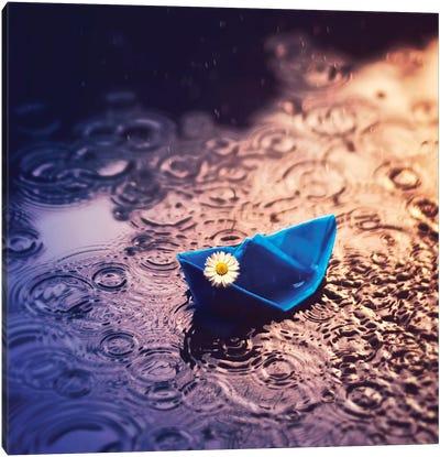 Under The Rain Canvas Art Print