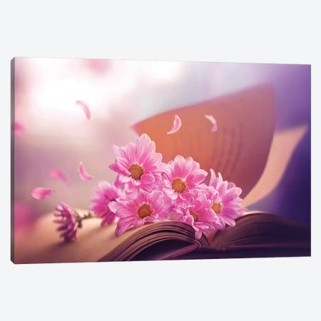 April Stories Canvas Print #ASR4} by Ashraful Arefin Art Print