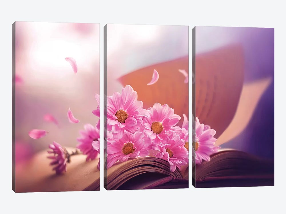 April Stories by Ashraful Arefin 3-piece Canvas Art