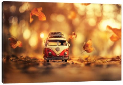 Autumn Journey Canvas Art Print