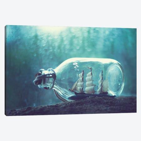 Bottled Dream Canvas Print #ASR7} by Ashraful Arefin Canvas Print