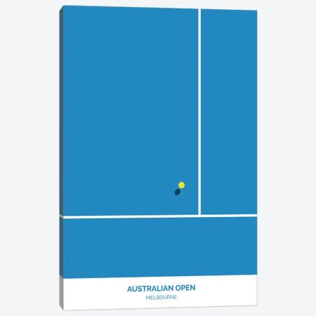 Australian Open Canvas Print #ASX100} by avesix Canvas Art Print