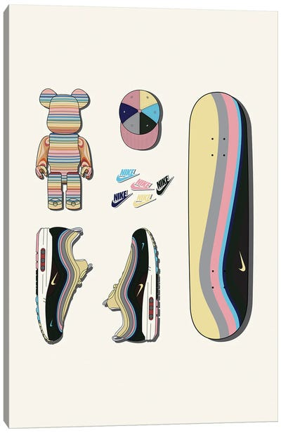 Sean Wotherspoon Pack Canvas Art Print