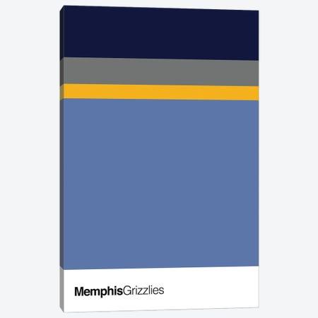 Memphis Grizzlies Basketball Canvas Print #ASX116} by avesix Canvas Art Print