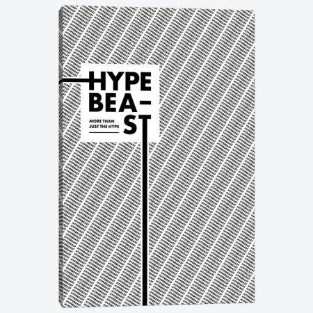 Hypebeast Canvas Print #ASX11} by avesix Canvas Art Print