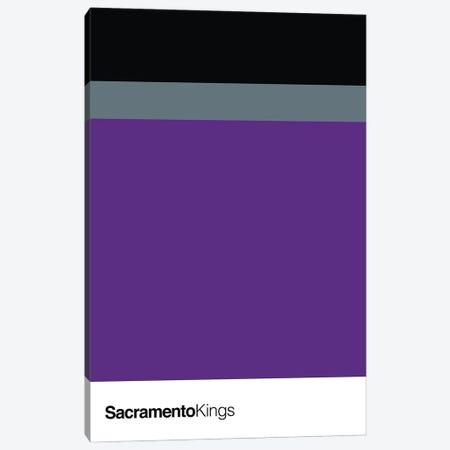 Sacramento Kings Basketball Canvas Print #ASX127} by avesix Canvas Artwork