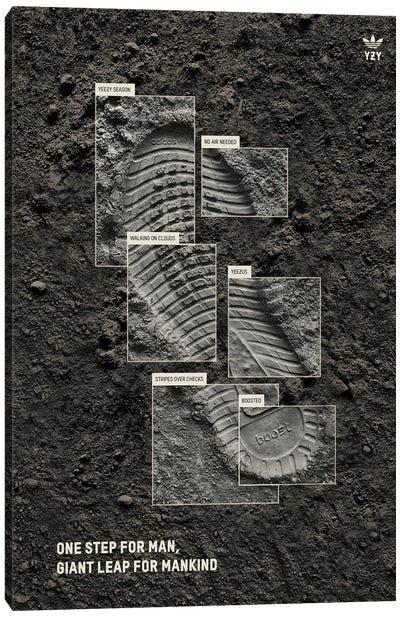 Moon Landing Canvas Art Print