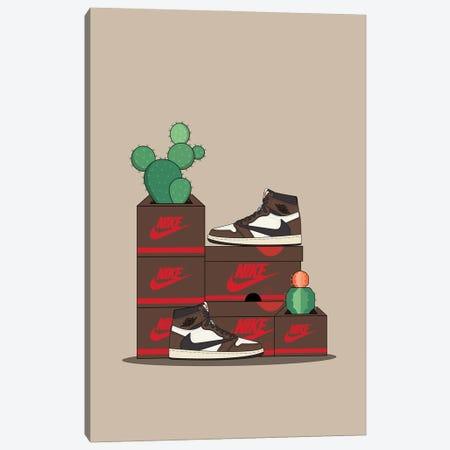 Travis Scott Cactus Jack Canvas Print #ASX176} by avesix Canvas Art Print