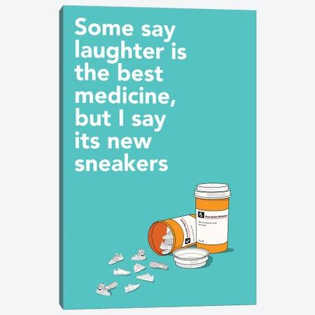 Sneaker Medicine Canvas Print #ASX17} by avesix Canvas Art