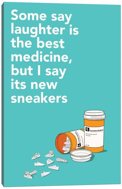 Sneaker Medicine Canvas Art Print