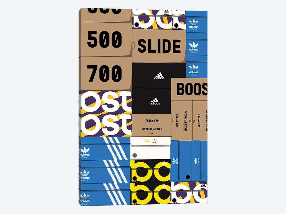 Adidas SneakerBox by avesix 1-piece Canvas Artwork