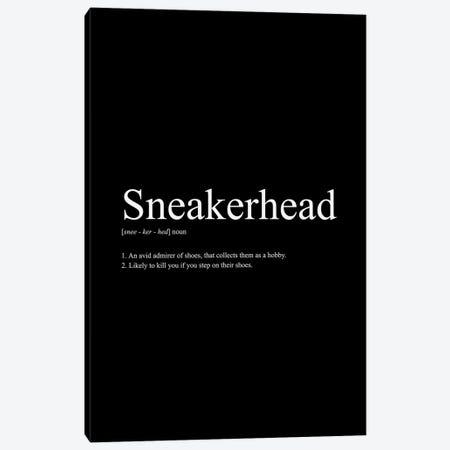 Sneakerhead Definition I Canvas Print #ASX26} by avesix Canvas Print