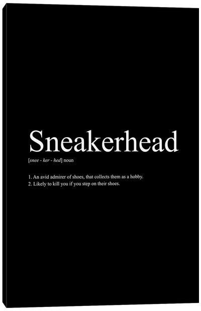 Sneakerhead Definition I Canvas Art Print