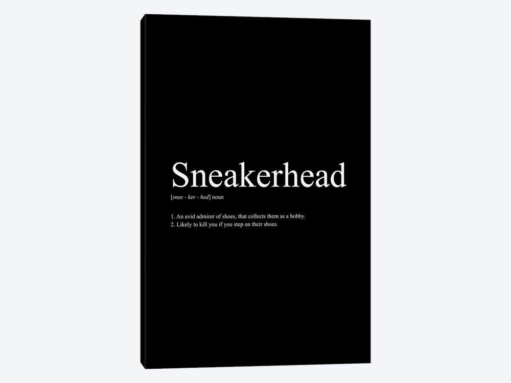 Sneakerhead Definition I by avesix 1-piece Canvas Artwork