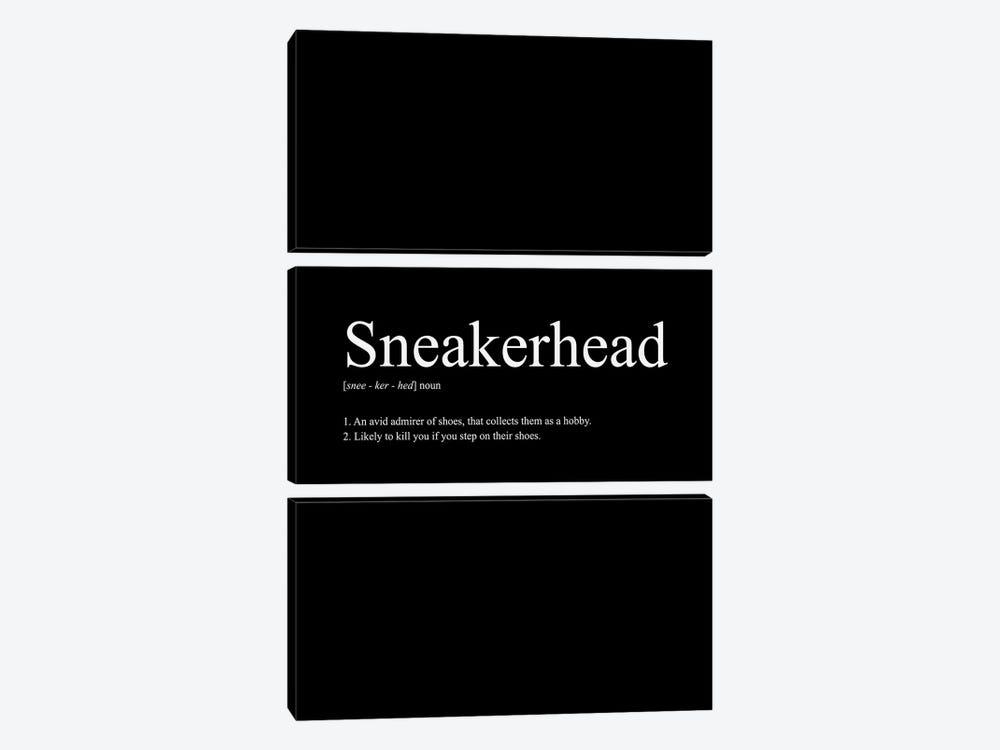 Sneakerhead Definition I by avesix 3-piece Canvas Art
