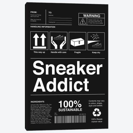 Sneaker Addict I Canvas Print #ASX2} by avesix Canvas Artwork