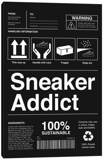 Sneaker Addict I Canvas Art Print