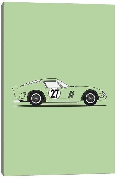 Ferrari 250 GTO (Green Edition) Canvas Art Print