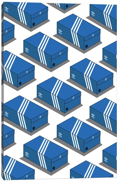 Adidas Shoe Box Canvas Art Print