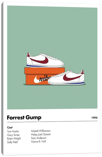 Forrest Gump Canvas Art Print