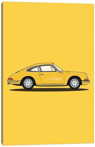 Porsche 911-901 (Yellow Edition) Canvas Art Print