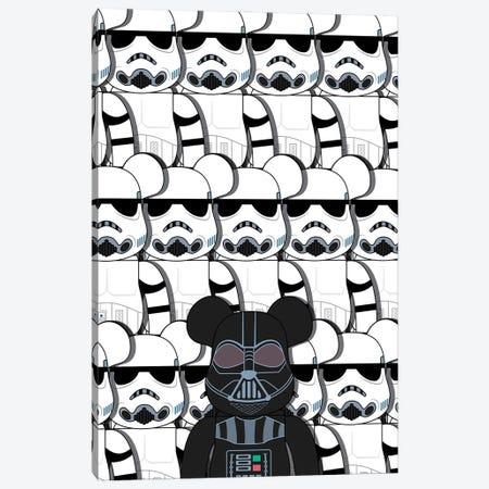Star Wars Bearbrick Canvas Print #ASX389} by avesix Canvas Art Print
