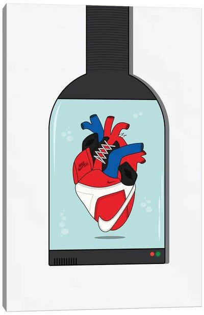 Sneaker Heart Capsule Canvas Art Print