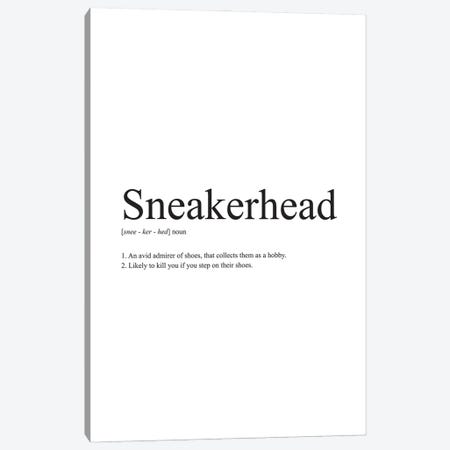 Sneakerhead Definition Canvas Print #ASX46} by avesix Canvas Art Print