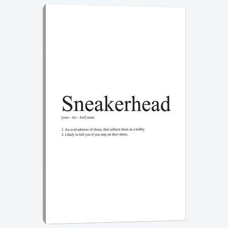 Sneakerhead Definition Canvas Print #ASX46} by avesix Canvas Art Print