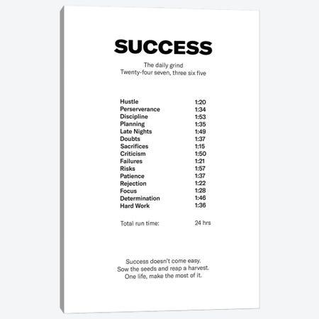 Success Canvas Print #ASX48} by avesix Canvas Art