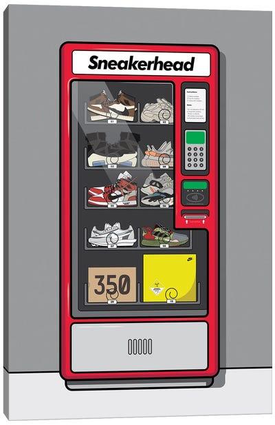 Sneaker Vending Machine Canvas Art Print