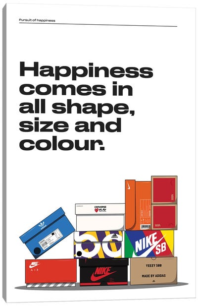 Happiness Canvas Art Print
