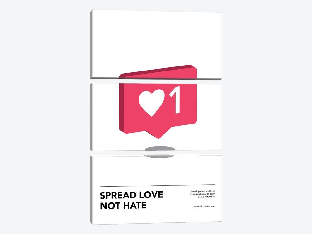 Spread Love by avesix 3-piece Canvas Wall Art