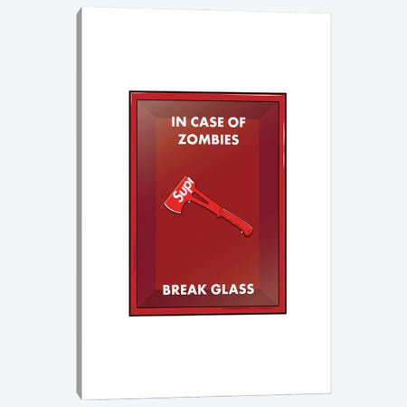Zombie Outbreak Canvas Print #ASX67} by avesix Canvas Print
